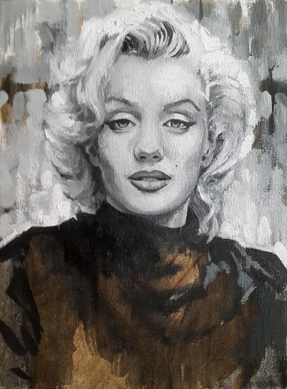 Marylin 18 x 24 cm. Image